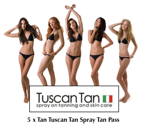 5 tuscan spray tan pass